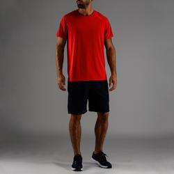 FTS 100 T-Shirt Fitness Kardio - Biru/Merah
