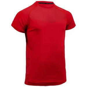 Men's Regular-Fit Rapid Dry Cardio Gym T-Shirt - Red