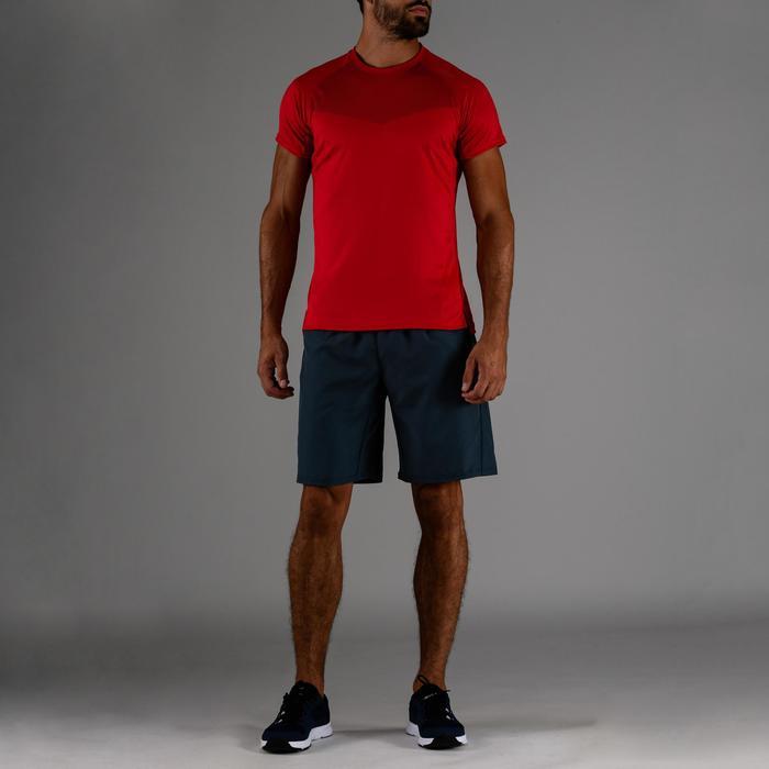 T-Shirt FTS 120 Fitness Ausdauer Herren rot