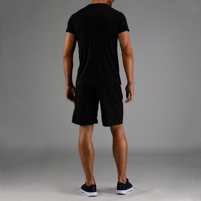 T-Shirt FTS 120 Fitness-/Cardiotraining Herren schwarz/uni