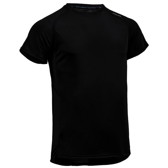 Fitness shirt FTS 120 voor heren, zwart