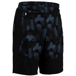 Short cardio fitness hombre FTS 500 negro AOP