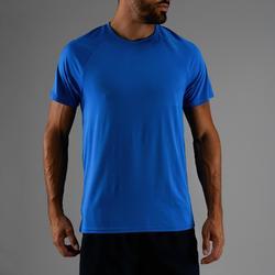 T-Shirt FTS 100 Fitness-/Cardiotraining Herren blau