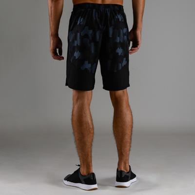 Short cardio fitness homme FTS 500 noir AOP