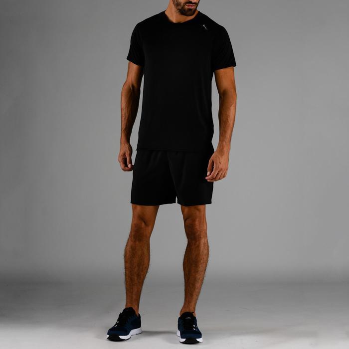 T-Shirt FTS 100 Fitness-/Cardiotraining Herren schwarz