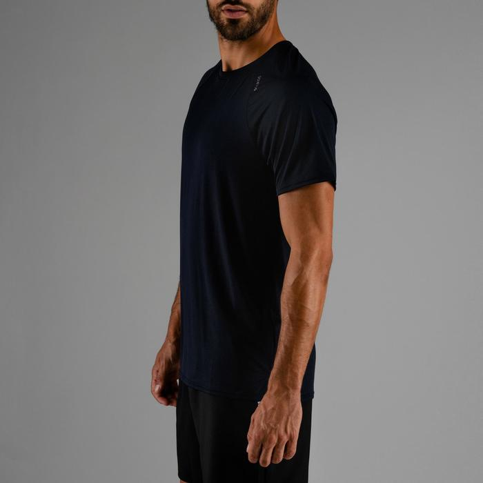 Cardiofitness T-shirt heren FTS 100 marineblauw