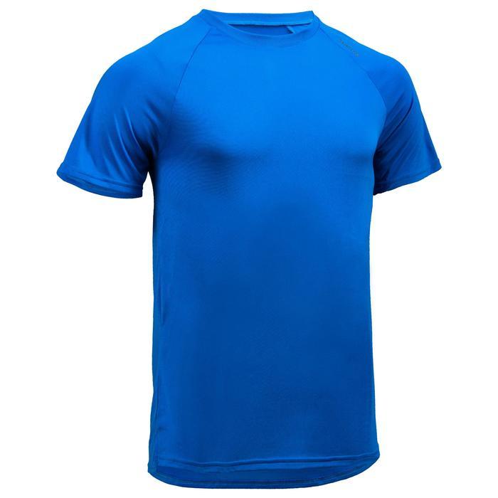 Camiseta de cardio fitness hombre FTS 100 H azul