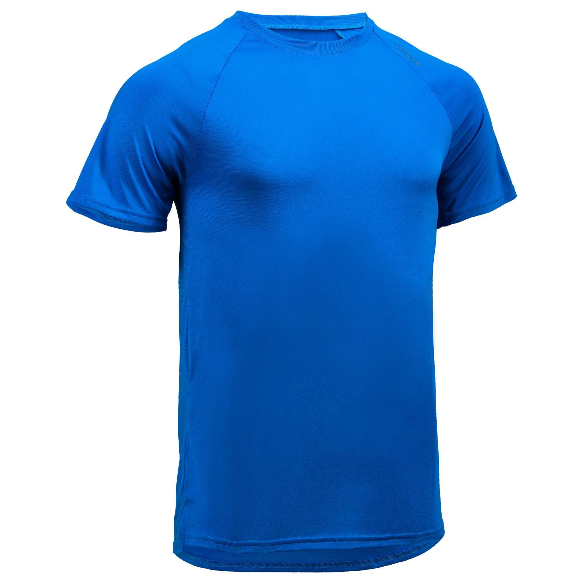 Domyos Fitness shirt FTS 100 voor heren, blauw