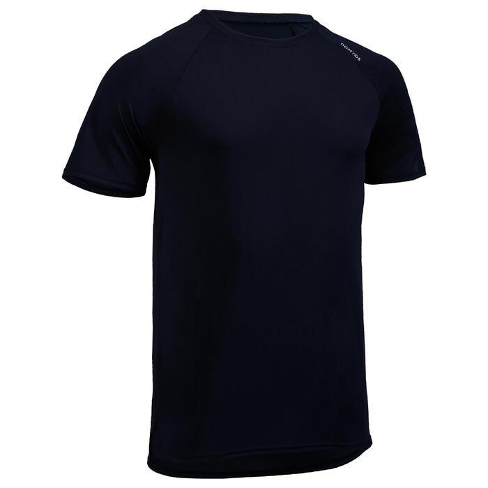 T-Shirt FTS 100 Cardio-/Fitnesstraining Herren marineblau