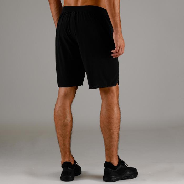 Cardiofitness short voor heren FST 900 zwart
