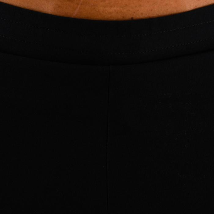 Sportbroekje fitness FST 500 voor heren, zwart visgraatmotief