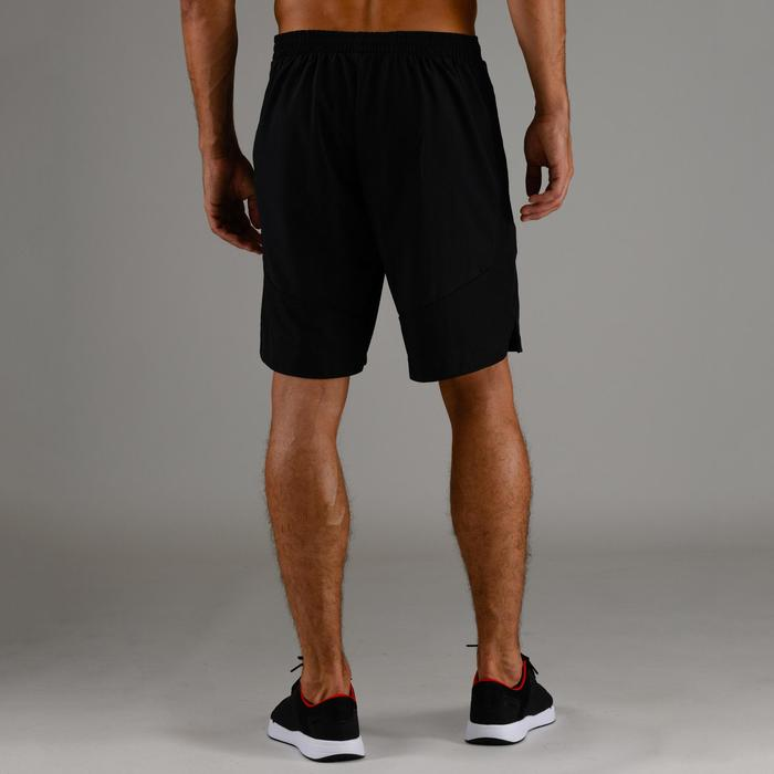 FST 500 Cardio Fitness Training Shorts - Black Herringbone
