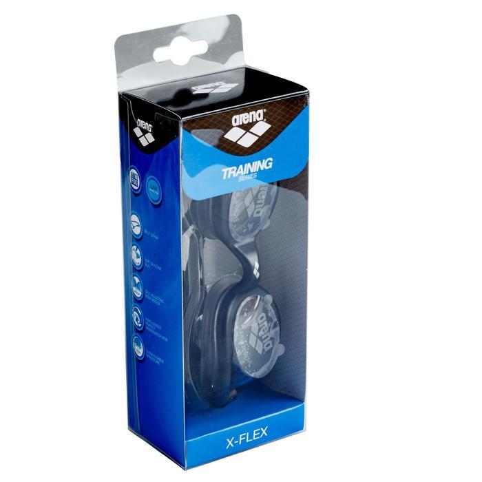 Lunettes de natation XFLEX noir - 155625