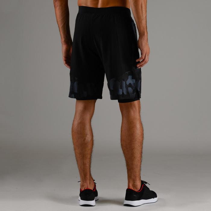 Sportbroekje fitness FTS 520, zwart