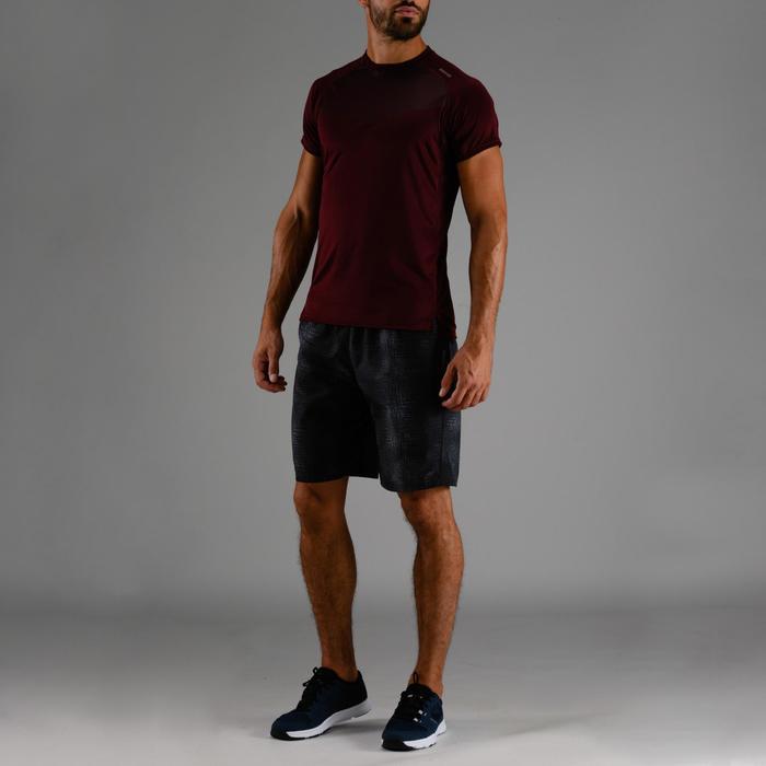 Sportbroekje fitness FST 120 voor heren, zwart