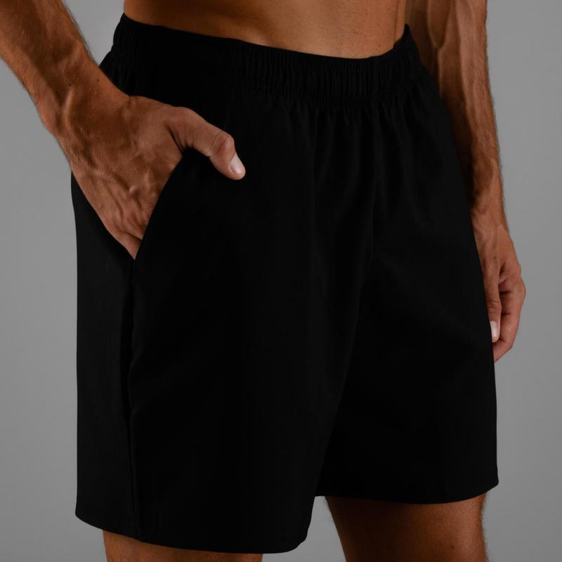 d243a402503c Ropa de hombre - Pantalón corto chándal Cardio Fitness Domyos FST 100  hombre negro