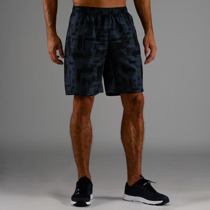FST 120 Cardio Fitness Shorts - Grey AOP
