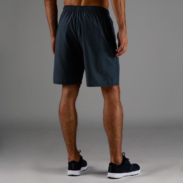 Short cardio fitness hombre FST 120 gris azul