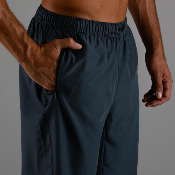 Cardiofitness short voor heren FTS 120 grijsblauw