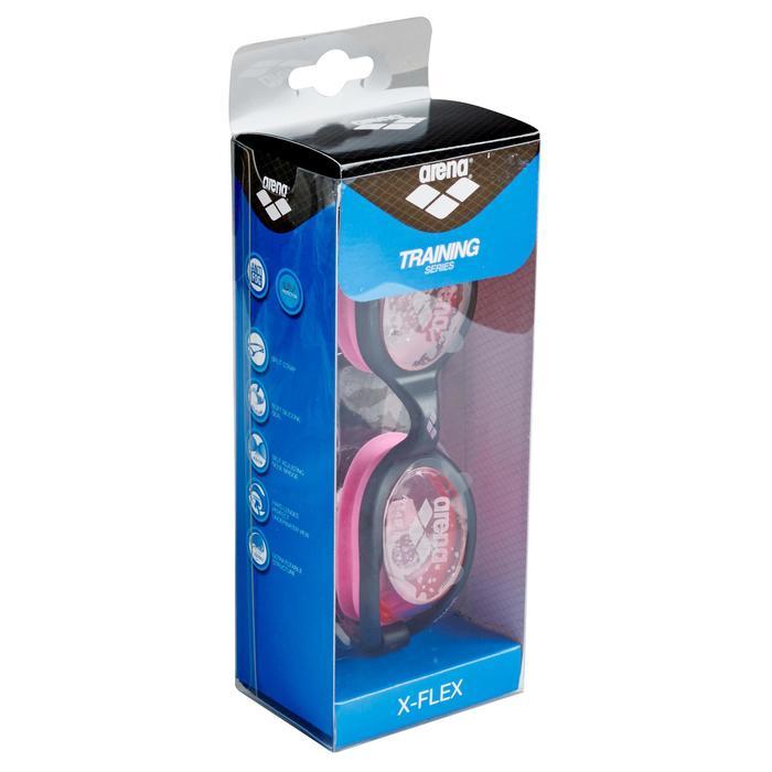 Lunettes de natation XFLEX rose - 155637