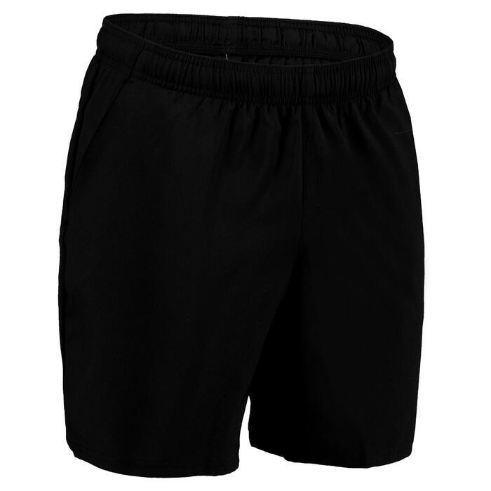Sporthose kurz FST 100 Fitness Cardio Herren schwarz