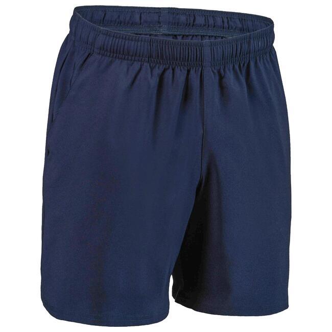 Men's Basic Fitness Shorts - Navy Blue Marl