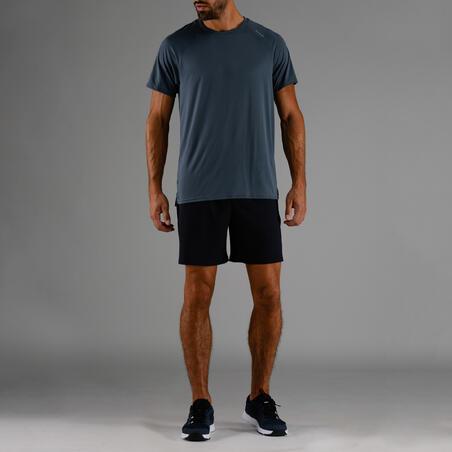 Men's Cardio Fitness Shorts FST 100 - Navy Blue Marl