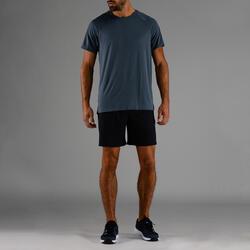 有氧健身訓練短褲FST 100-軍藍色