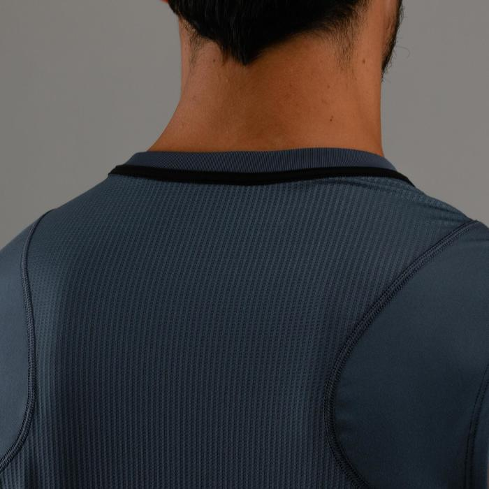 Fitnessshirt mouwloos heren FTA 500 grijs