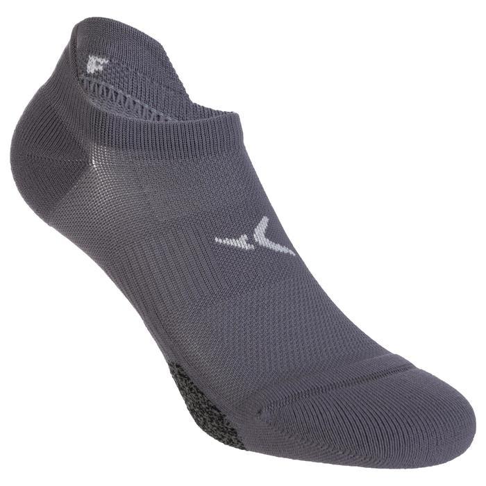 Calcetines invisibles fitness cardio-training x2 violeta claro