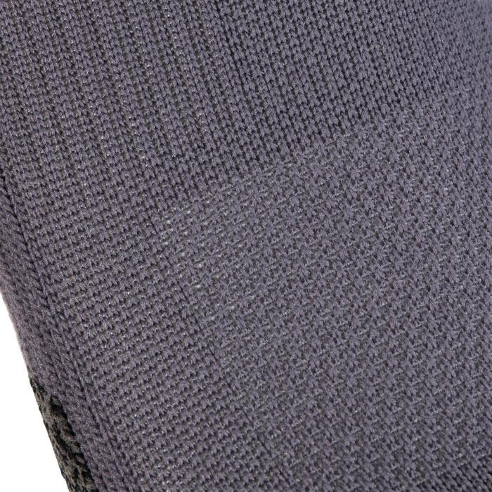 Sportsocken Invisible Cardio-/Fitnesstraining 2er-Pack grau