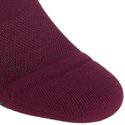 Sportsocken Invisible Fitness Cardio 2er-Pack violett