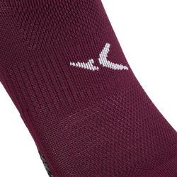 Calcetines invisibles fitness cardio-training x2 violeta