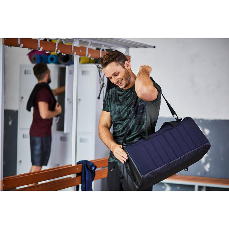 Bolsa fitness cardio-training power 55 litros burdeos  4070eb01ae8