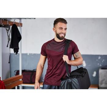FST 120 Fitness Cardio Training Shorts - Mottled Black Print