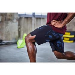 FTS 500 Cardio Fitness T-Shirt - Burgundy Print