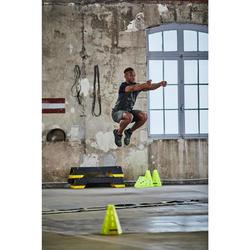 FTS 920 Cardio Fitness T-Shirt - Navy / Khaki