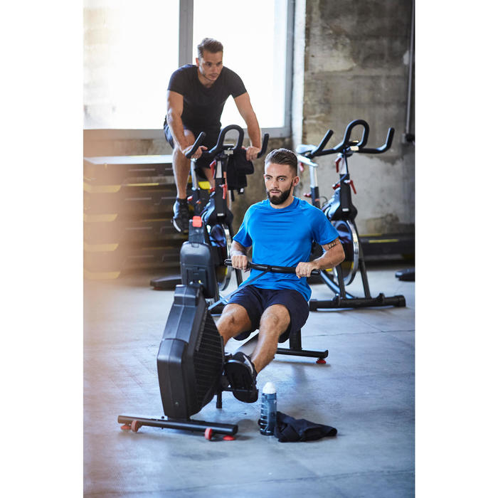 Fitness shirt FTS 100 voor heren, blauw