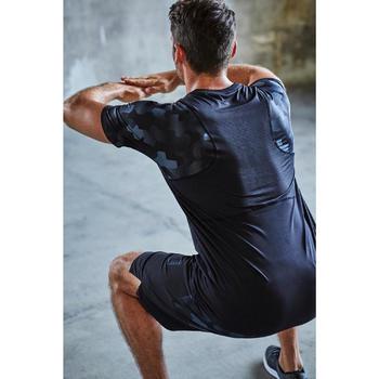 FST 500 Cardio Fitness Shorts - Black AOP