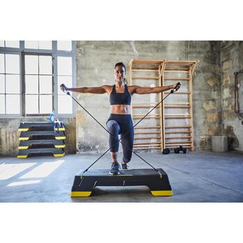 Fitnessschuhe Cardio 900 Damen schwarz/weiß