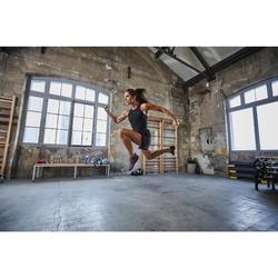 Fitnessschuhe Cardiotraining 920 Mid Damen violett/grau