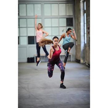 Sportschuh Fitness Cardio 500 Mid Damen schwarz