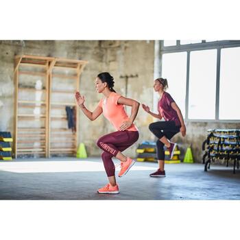 7/8 Leggings FLE 120 Cardio Fitness Damen bordeaux