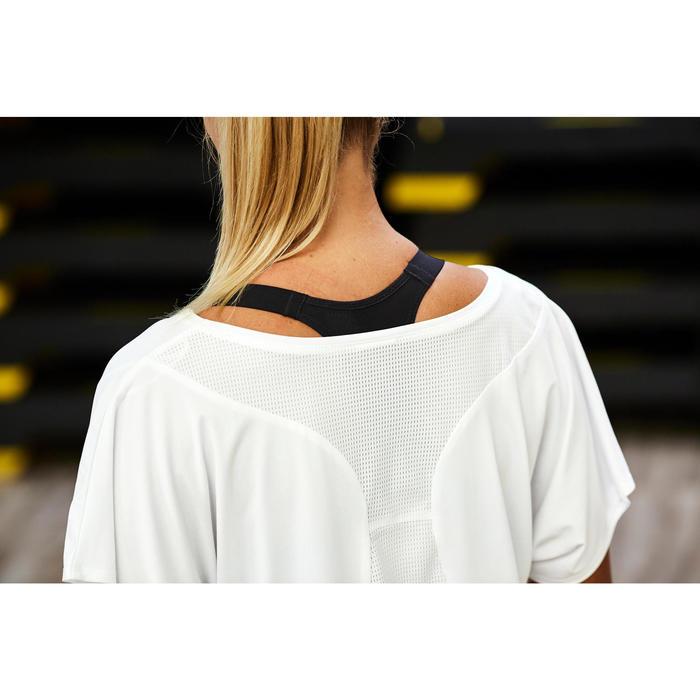 Fitness shirt 120 voor dames, wit
