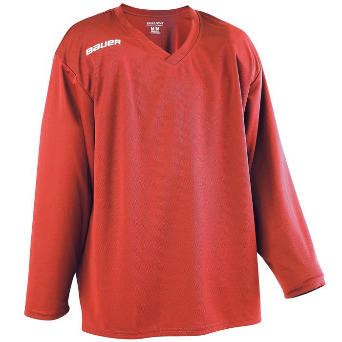 IJshockeyshirt voor volwassenen B200 rood