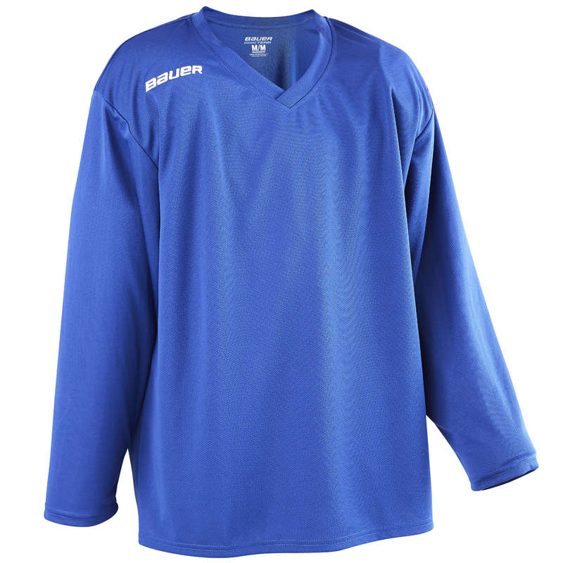 MATERIALE HOCKEY X CLUB ADULTI Monopattini, Roller, Skate - Maglia hockey B200 SR azzurra BAUER - Accessori giocatore