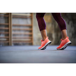 Chaussures fitness cardio-training 120 mid femme corail