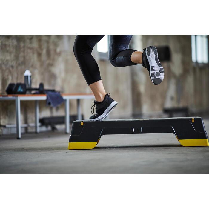Fitnessschoenen Cardio 120 mid voor dames zwart