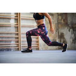 Fitnessschuhe 500 Fitness Cardio Damen schwarz