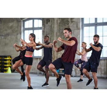 有氧健身訓練鞋500-灰色/黑色